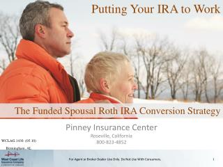 Pinney Insurance Center Roseville, California 800-823-4852
