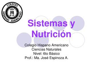 Sistemas y Nutrición