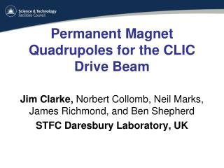 Permanent Magnet Quadrupoles for the CLIC Drive Beam