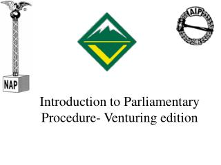 Introduction to Parliamentary Procedure- Venturing edition