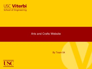 Arts and Crafts Website