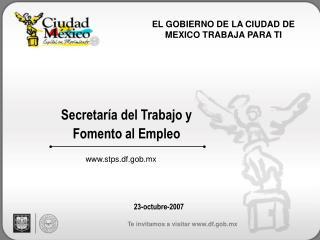 Secretaría del Trabajo y Fomento al Empleo