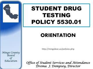 STUDENT DRUG TESTING  POLICY 5530.01