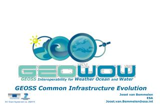 GEOSS Interoperability for Weather Ocean and Water