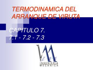CAPITULO 7. 7.1 - 7.2 - 7.3