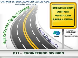 D11 -  ENGINEERING DIVISION