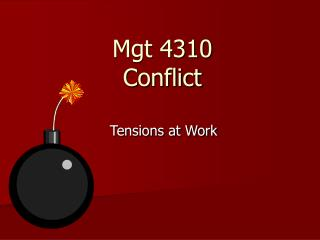 Mgt 4310 Conflict