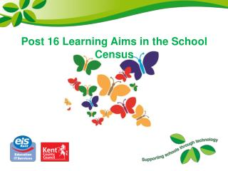 Post 16 Learning Aims in the School Census