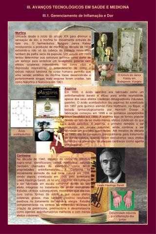 III.  AVANÇOS  TECNOLÓ GICOS  EM SAÚDE E MEDICINA