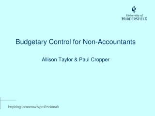 Budgetary Control for Non-Accountants