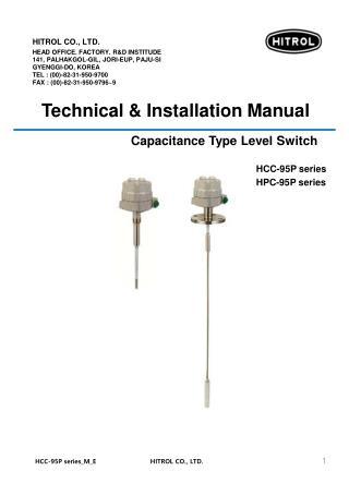 Capacitance Type Level Switch