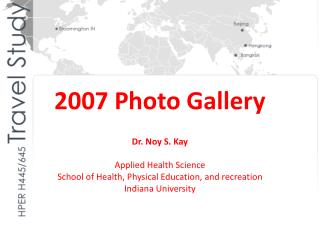 2007 Photo Gallery