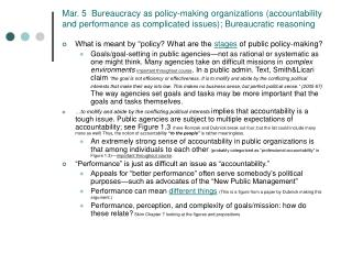 "What is meant by ""policy? What are the stages of public policy-making?"
