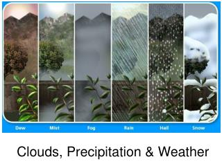 Clouds, Precipitation & Weather