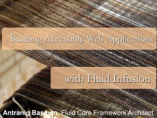 Building Accessible Web Applications