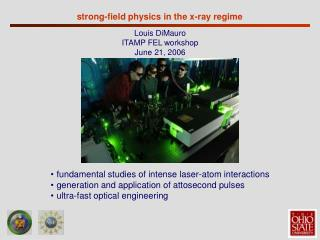 strong-field physics in the x-ray regime