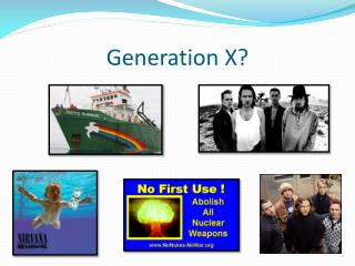 Generation X?