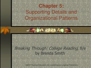 Breaking Through: College Reading , 8/e by Brenda Smith