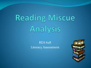 miscue analysis essays Miscue analysis is associated with a more whole language or mixed methods approach to teaching reading it generally assumes that we need to identify which reading strategies children 'read' the words and what their difficulties may be the thing is, we can all undertake a miscue analysis and make identifical notes of how.