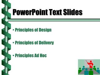 PowerPoint Text Slides