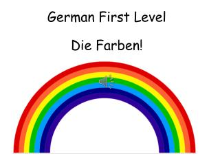 German First  Level