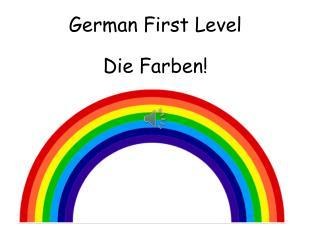 German First Level