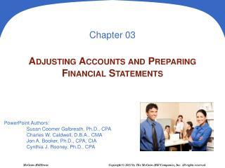 Adjusting Accounts and Preparing Financial Statements
