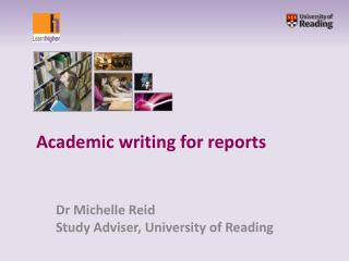 Academic writing for reports