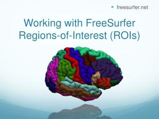Working with FreeSurfer  Regions-of-Interest (ROIs)