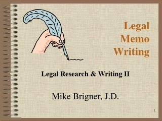 Legal Memo Writing