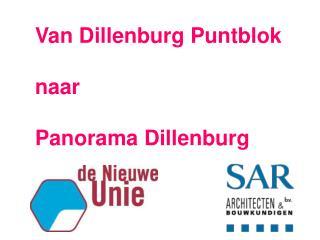Van Dillenburg Puntblok naar Panorama Dillenburg