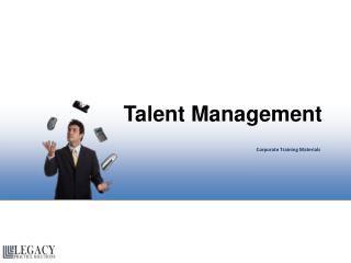 Talent Management Corporate Training Materials