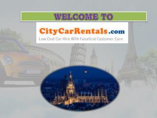 WELCOME TO CITYCARRENTALS.com