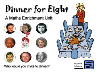 Dinner for Eight