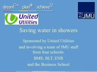 Saving water in showers