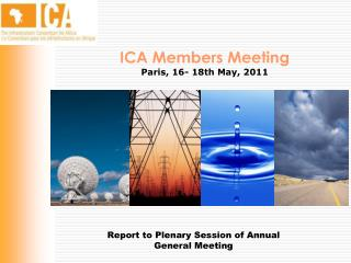 Report to Plenary Session of Annual General Meeting