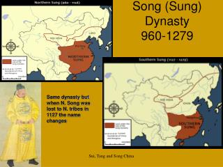Song (Sung) Dynasty 960-1279