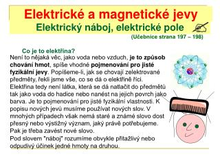 Elektrický náboj, elektrické pole
