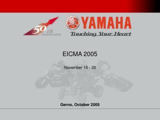 EICMA 2005 November 15 - 20