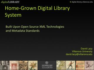 Home-Grown Digital Library System