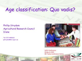 Age classification: Quo vadis?