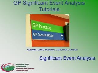 GP Significant Event Analysis Tutorials
