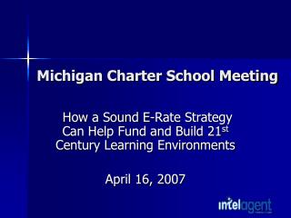 Michigan Charter School Meeting