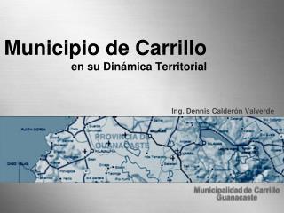 Municipio de Carrillo en su Dinámica Territorial