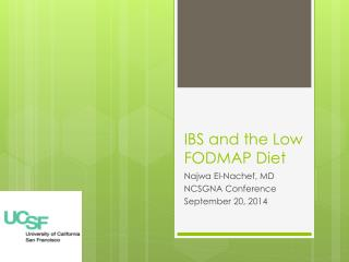 IBS and the Low FODMAP Diet