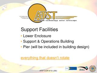 Support Facilities