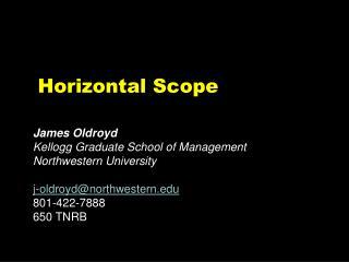 Horizontal Scope