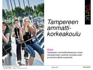 Tampereen ammatti-korkeakoulu