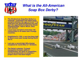 What is the All-American Soap Box Derby?