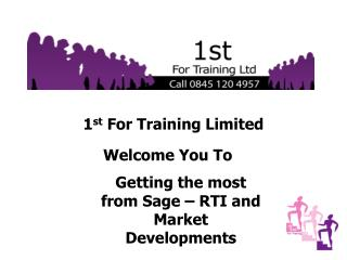 1 st  For Training Limited